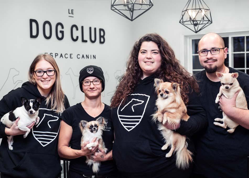 L'équipe du Dog Club