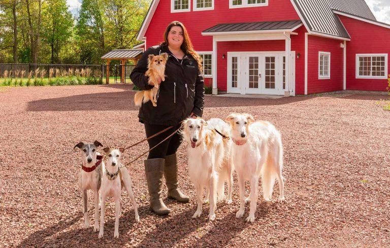 Justine Copropriétaire au Dog Club